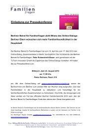 Einladung PK Bilanz Online-Dialog zusammenleben-in-berlin.de