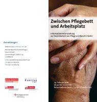 Veranstaltungsflyer - Berliner Beirat für Familienfragen