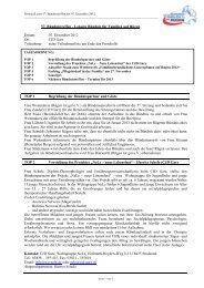 Bündnisprotokoll vom 57. Bündnistreffen am 07.12.2012 - Lokales ...