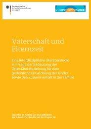 Vaterschaft und Elternzeit - Bundesministerium für Familie, Senioren ...