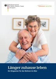 Zuhause im Alter - Seniorinnen und Senioren