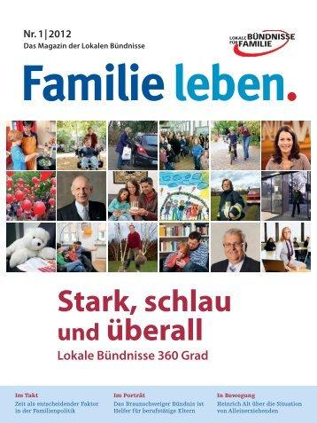 "Magazin ""Familie leben - Lokale Bündnisse für Familie"
