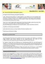 Koki - Newsletter
