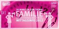MITTAGSINFO 2012