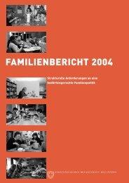 Familienbericht 2004 - Familienhandbuch