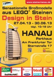 Design in Stein - Familienkarte Hessen