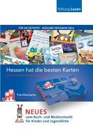 Hessen hat die besten Karten - Familienkarte Hessen