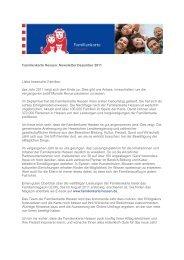 Newsletter Dezember 2011 Liebe hessische Familien, das Jahr ...