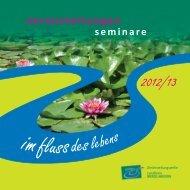 Programm der Gleichstellungsstelle 2012 - Landkreis Merzig-Wadern