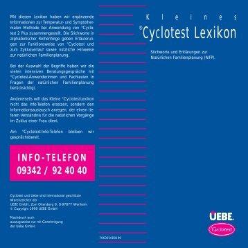Cyclotest Lexikon - Familienplanung