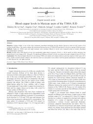 Blood copper levels in Mexican users of the ... - Familienplanung
