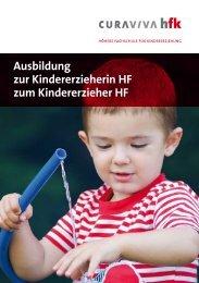Ausbildung zur Kindererzieherin HF zum ... - Familienservice