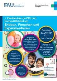 Erleben, Forschen und Experimentieren - Familienservice - Friedrich ...