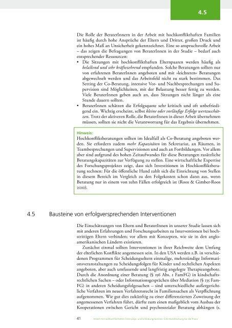 Arbeit mit hochkonflikthaften Trennungs- und ... - Familientext.de