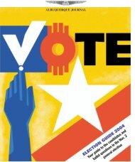 ELECTION GUIDE 2004 - Albuquerque Journal