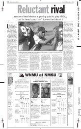 Oregon St  vs  NMSU - Albuquerque Journal