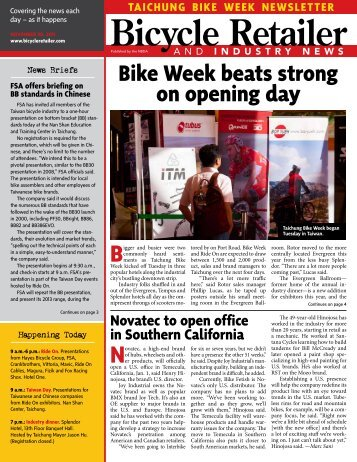 Bike Week beats strong - Bicycle Retailer and Industry News