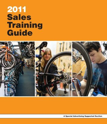 2011 Sales Training Guide - Bicycle Retailer and Industry News