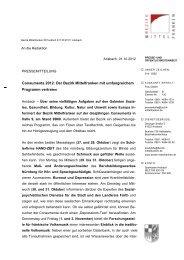 Consumenta 2012: Der Bezirk Mittelfranken mit umfangreichem ...