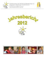 Familienzentrum der Nachbarschaftshilfe Haar e.V. Salzgasse 2 ...