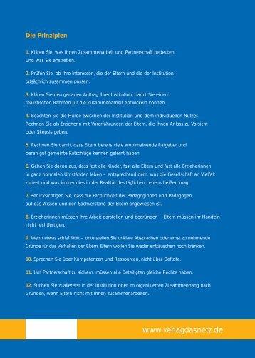 12 Prinzipien für eine erfolgreiche Zusammenarbeit