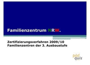 PDF-Datei; 772 KB - Familienzentrum NRW