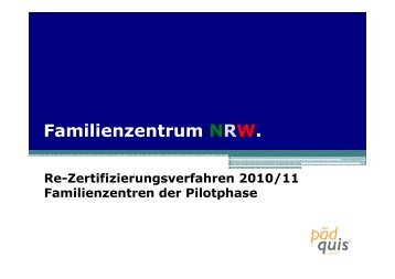 PDF-Datei; 694 KB - Familienzentrum NRW