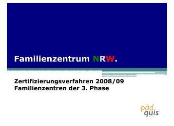 PDF-Datei; 683 KB - Familienzentrum NRW