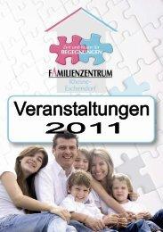 Veranstaltungskalender Familienzentrum Rheine Eschendorf