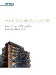 Astaro Security Gateway V8
