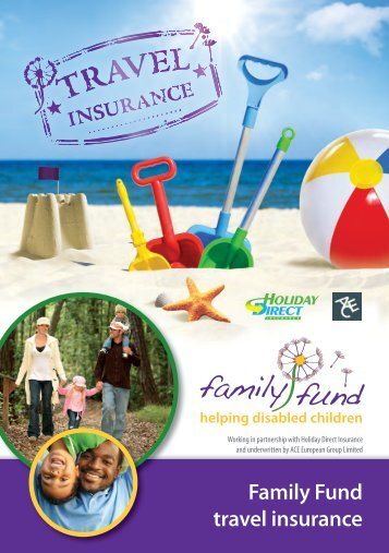 Family Fund travel insurance
