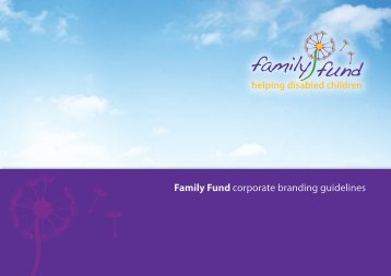 Family Fund | Logo Family Fund corporate branding guidelines