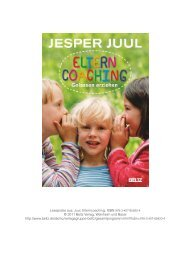 Leseprobe aus: Juul, Elterncoaching, ISBN 978-3-407 ... - Familylab
