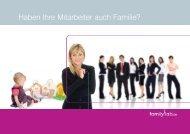 Haben Ihre Mitarbeiter auch Familie? - Familylab