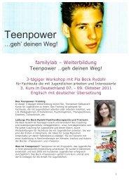 Teenpower - Familylab