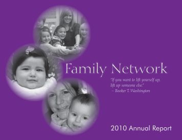 2009-2010 Annual Report - Family Network