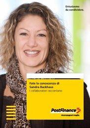 Fate la conoscenza di Sandra Backhaus – I collaboratori raccontano