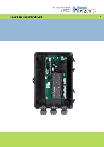 Řídící jednotka CS 100-Rev05-CZ (pdf)