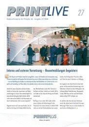 Interne und externe Vernetzung – Neuentwicklungen begeistern