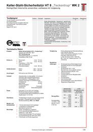 Technische Daten (pdf) - Teckentrup
