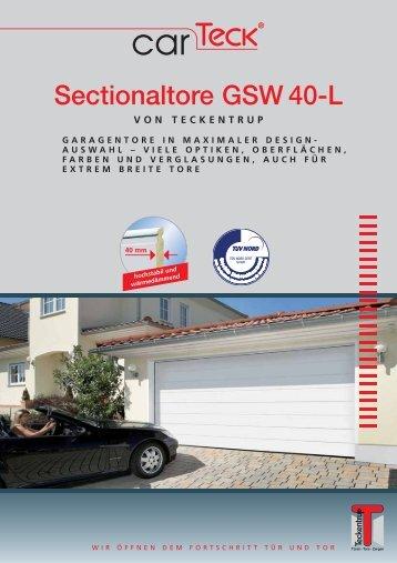 Sectionaltore GSW 40-L