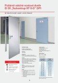 Prospekt - program dveří Teckentrup-CZ (pdf) - Page 5