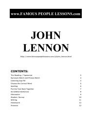 john lennon - Famous People Lessons.com