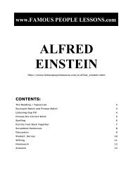 ALFRED EINSTEIN - Famous People Lessons.com