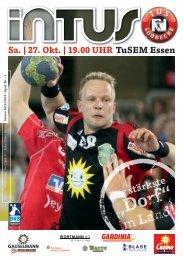 Sa. | 27. Okt. | 19.00 UHR TuSEM Essen - Fanclub Red Devils eV