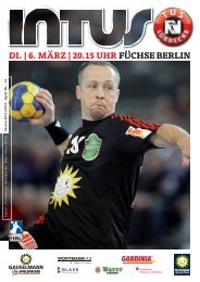 DI. | 6. MÄRZ | 20.15 UHR FÜCHSE BERLIN - Fanclub Red Devils eV