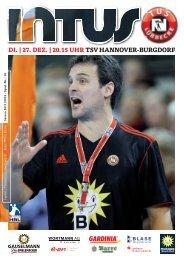 di. | 27. dez. | 20.15 uhr tsv hannover-burgdorf - Fanclub Red Devils ...