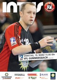 VFL GUMMERSBACH Merkur Arena - Fanclub Red Devils eV
