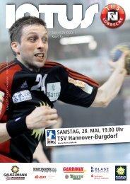 TSV Hannover-Burgdorf - Fanclub Red Devils eV