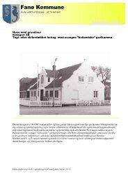 Download hæftet i PDF format - cirka 800 Kb. - Fanø Kommune